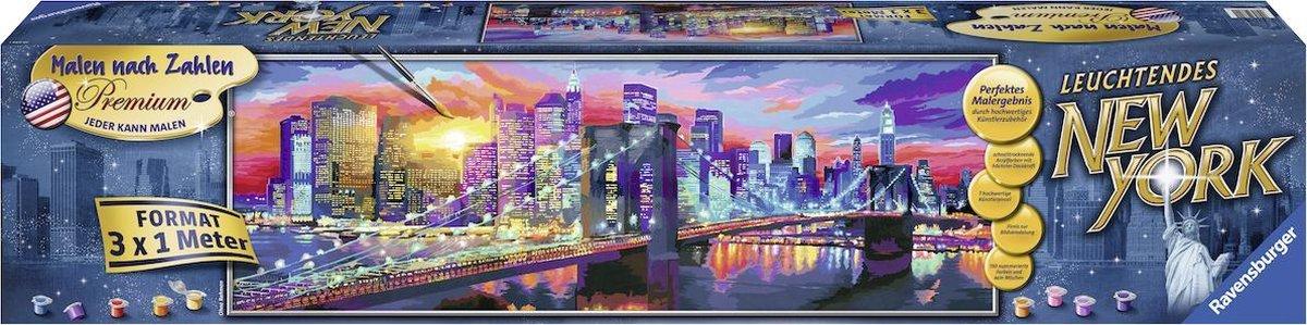 Ravensburger Schilderen op nummer Lichtgevend New York