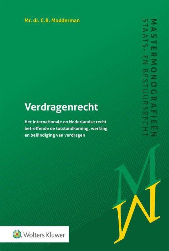 Verdragenrecht - C.B. Modderman |