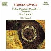 Shostakovich: Str. 4Tets Vol.4