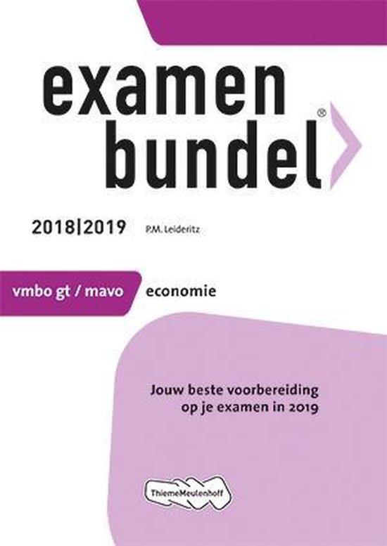 Examenbundel vmbo-gt/mavo Economie 2018/2019 - none |