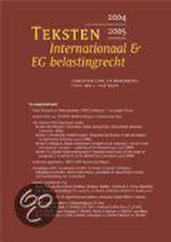 Teksten internationaal & eg belastingrecht 2005/2006 - none |