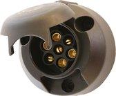 Carpoint 7-Polige Kunststof Stekkerdoos met Mistlampschakeling