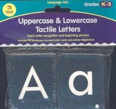 Uppercase & Lowercase Tactile Letters