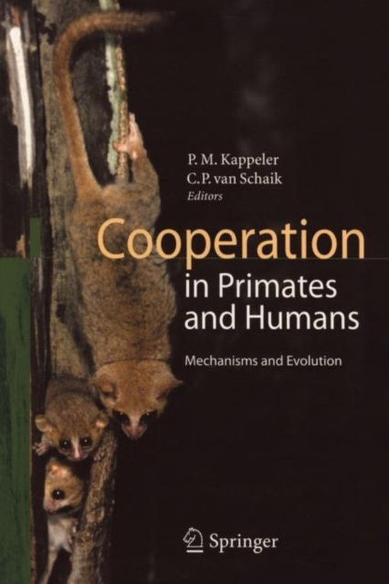 Boek cover Cooperation in Primates and Humans van  (Paperback)