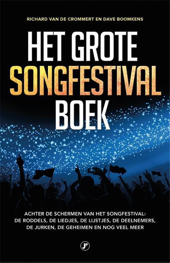 Het grote songfestival boek - Richard van de Crommert |