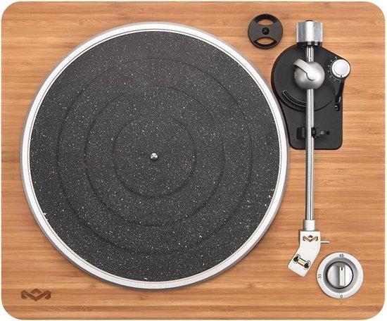 House of Marley Stir It Up USB Platenspeler - Voorversterker - Audio Technica Naald