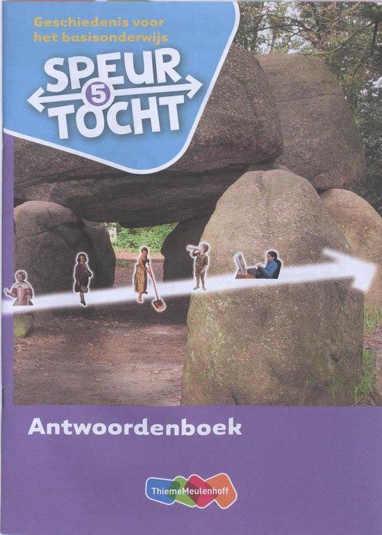 Boek cover Speurtocht Groep 5 Antwoordenboek van Bep Braams