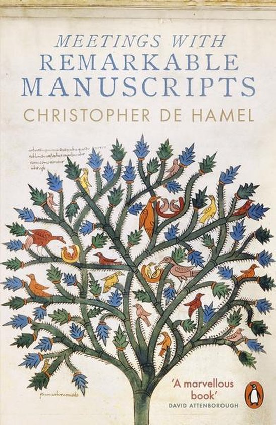Boek cover Meetings with Remarkable Manuscripts van Christopher De Hamel (Paperback)