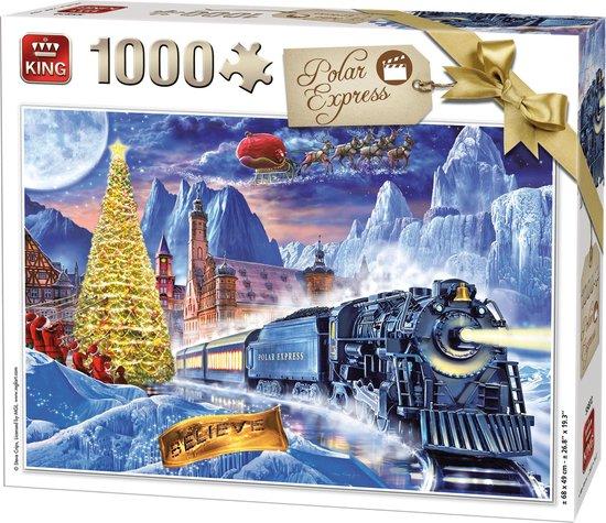 Afbeelding van King Puzzel 1000 Stukjes - Polar Express