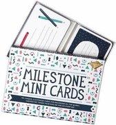 Milestone™ Mini Cards - 100 mini mijlpaalkaartjes - Nederlandstalig