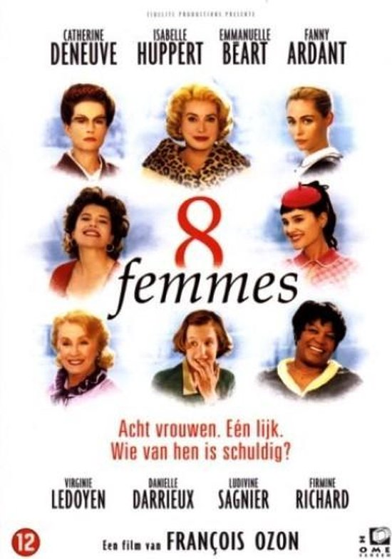 Cover van de film '8 Femmes'