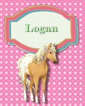 Handwriting and Illustration Story Paper 120 Pages Logan