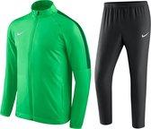 Nike Academy 18 Trainingspak Kinderen - Maat 158/170 - groen/zwart