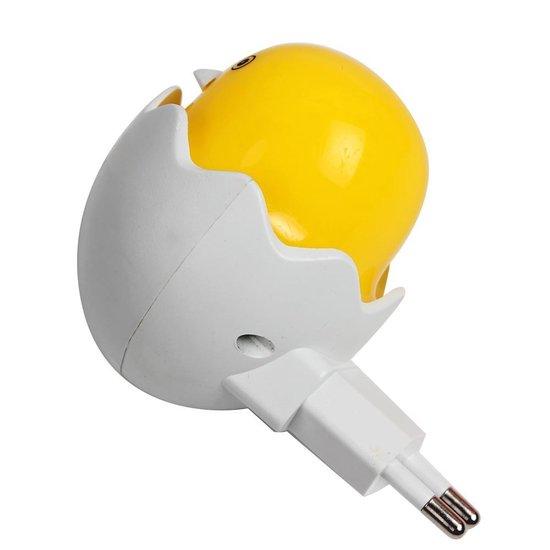 LeuksteWinkeltje Nachtlampje - Eend - LED stopcontact lamp met sensor