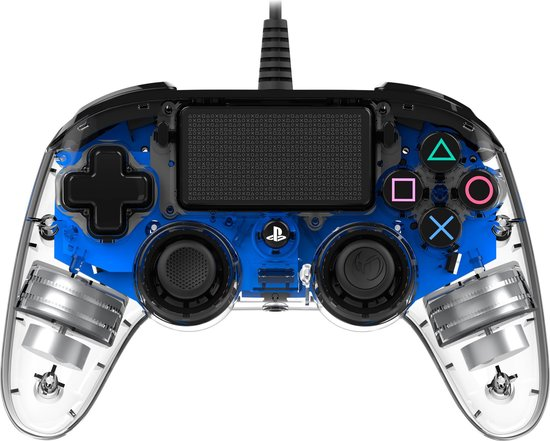 Officiele Compacte Bedrade LED Controller - PS4 - Blauw