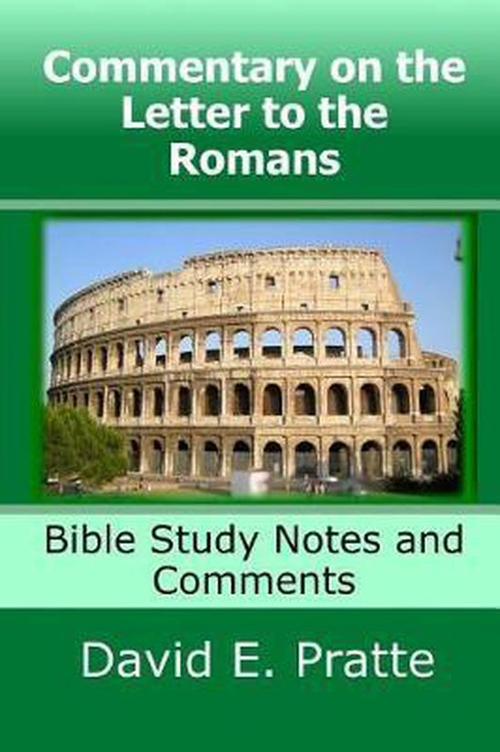 Boek cover Commentary on the Letter to the Romans van David E Pratte (Paperback)