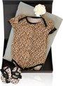 So Cool Baby - Leopard Basic - Kraamcadeau meisje of babyshower cadeau origineel