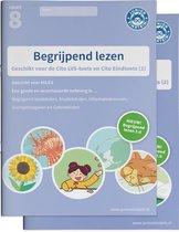 Boek cover Begrijpend lezen Oefenboeken Set groep 8 M8/E8 Delen 1 en 2 van  (Paperback)