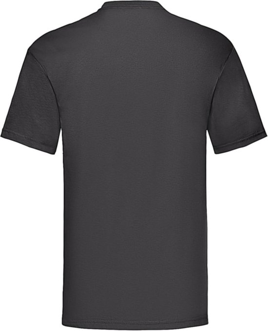 12-Pack Fruit of the Loom T-shirts - Ronde hals - Zwart - Maat 4XL