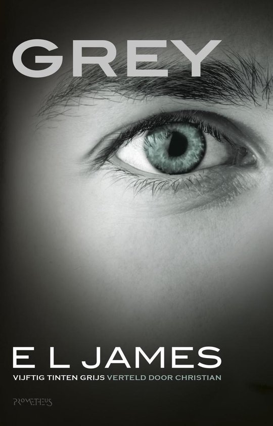 Boek cover Grey van E.L. James (Onbekend)