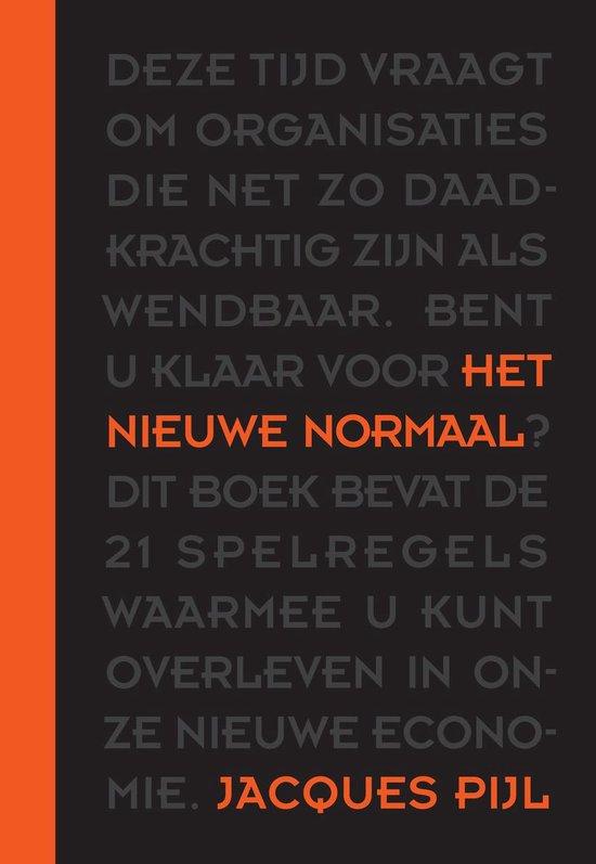 Boek cover Het nieuwe normaal van Jacques Pijl