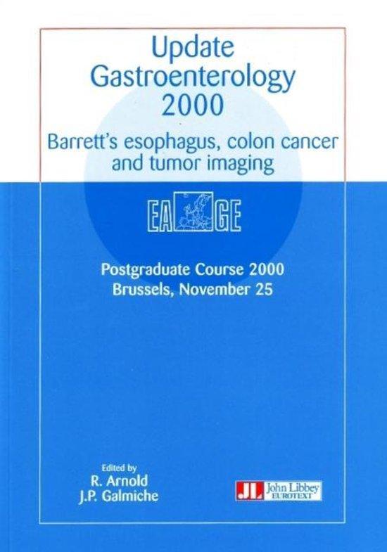 Boek cover Update Gastroenterology 2000 van European Association Of Gastroen (Paperback)