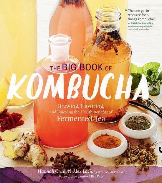 Boek cover The Big Book of Kombucha van Hannah Crum (Onbekend)