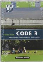 Boek cover Code 3 Cursistenpakket takenboek van Boers