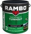 Rambo Tuinhout pantserbeits zijdeglans dekkend diepzwart 1123 2,5 l