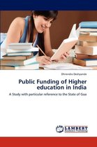 Public Funding of Higher Education in India