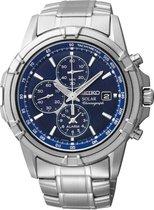 Seiko SSC141P1 horloge heren - zilver - edelstaal