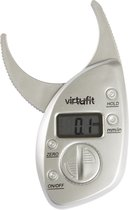 VirtuFit Digitale Huidplooimeter - Vetpercentagemeter - Vetmeter - Grijs