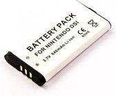 Battery for Nintendo DSi, Li-ion, 3,7V, 840mAh, 3,1Wh