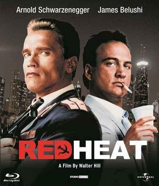 Cover van de film 'Red Heat'