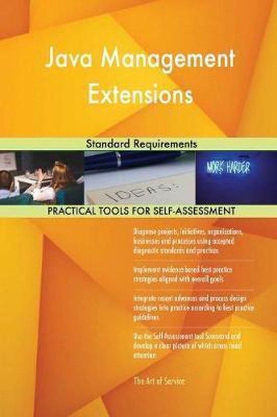 Java Management Extensions Standard Requirements