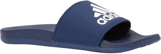 adidas Adilette Comfort Slippers Volwassenen - Marine Blauw;Wit - Maat 38
