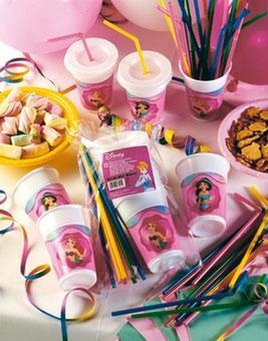 Disney Prinsessen milkshake bekers - 12 stuks