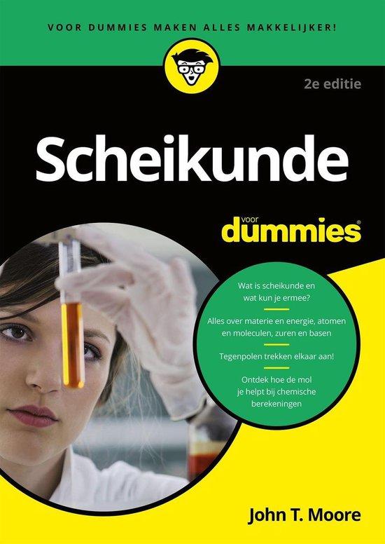 Voor Dummies - Scheikunde voor Dummies - John T. Moore |