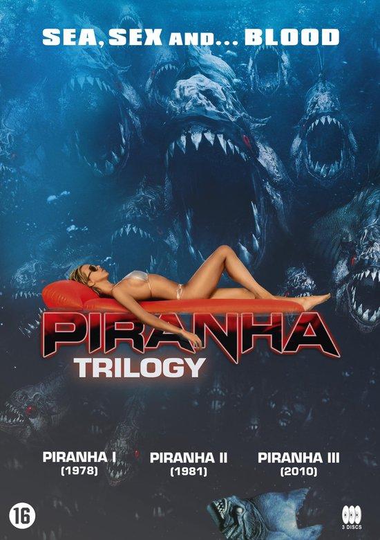 Cover van de film 'Piranha Trilogy'