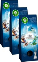 Air Wick Life scents Turqoise Oase Geurstokjes - 3x30ml