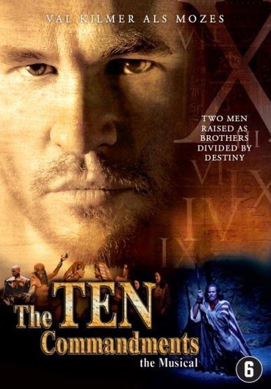 Cover van de film 'Ten Commandments - The Musical'