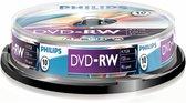 Philips DVD-RW 4,7GB 10pcs spindel 4x