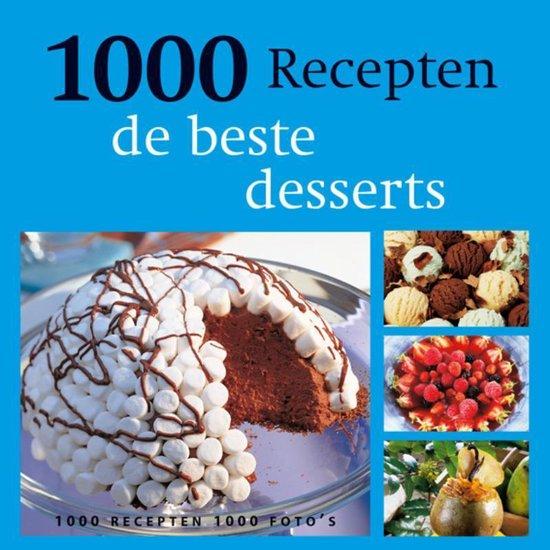 Cover van het boek '1000 recepten / De beste desserts' van P. Conticini en G. Guichard-Solignac