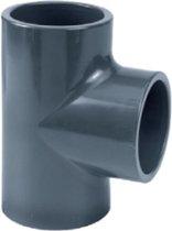 PVC T-stuk 90° - 50 mm - lijmverbinding