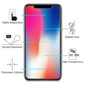2 Stuks Pack iPhone X Screenprotector Tempered Glass
