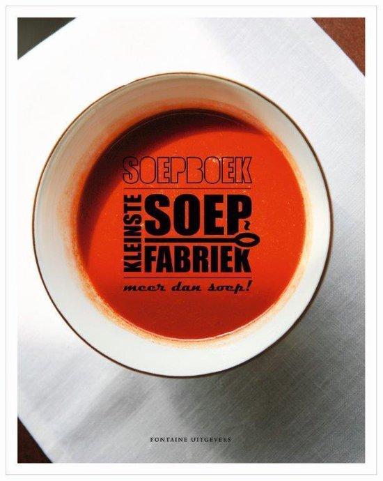 Cover van het boek 'Soepboek'