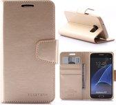 Samsung Galaxy S7 Booktype Hoesje Mercury Sonata - Goud