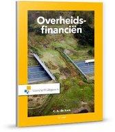Boek cover Overheidsfinancien van C.A. de Kam (Paperback)