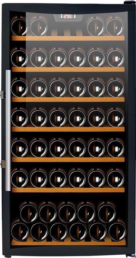 Koelkast: Caviss C178GBE4 - Wijnkoelkast - 78 flessen, van het merk Caviss