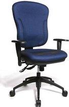 TOPSTAR bureaustoelen Bureaustoelen Wellpoint blauw met arm